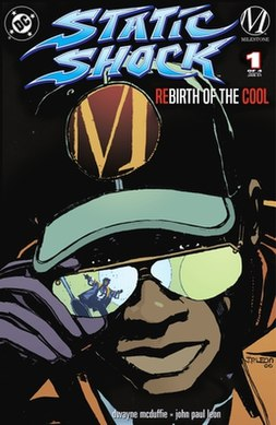 Static Shock - Rebirth of the Cool (no.1 - cover)