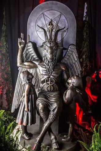 The Satanic Temple - Image: TST baph statue