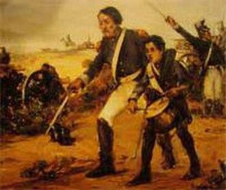 Battle of Tacuarí - The Drummer of Tacuarí.