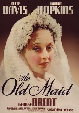 The Old Maid (1939 film) - Theatrical release poster