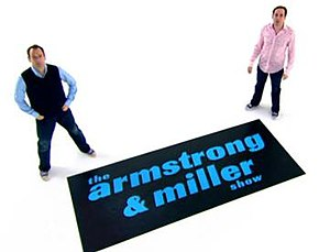 The Armstrong & Miller Show - Series 1-2 title card
