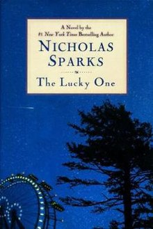 The Hardback Cover of The Lucky One.jpg