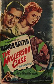 <i>The Millerson Case</i> 1947 film by George Archainbaud