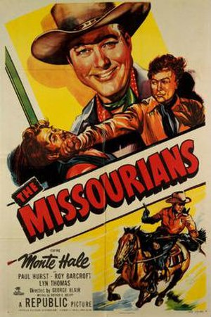 The Missourians - Theatrical release poster