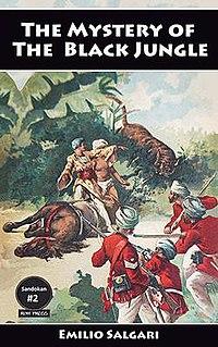<i>The Mystery of the Black Jungle</i> 1895 book by Emilio Salgari