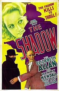 <i>The Shadow</i> (1933 film) 1933 film by George A. Cooper