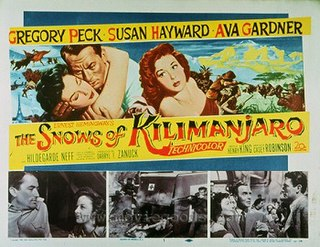 <i>The Snows of Kilimanjaro</i> (1952 film) 1952 US film directed by Henry King