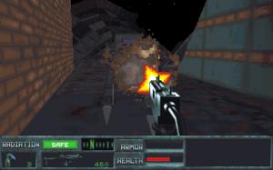The Terminator: Future Shock - Shooting an enemy