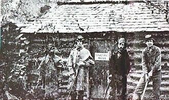 Texas Brigade - Texas Brigade, Winter of 1861–62.