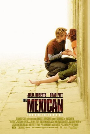 The Mexican - Theatrical release poster