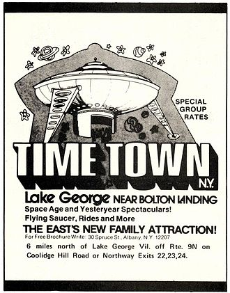 Time Town - Image: Time Town advert
