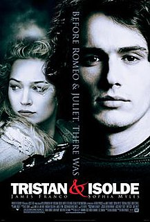 <i>Tristan & Isolde</i> (film) 2006 romantic drama film directed by Kevin Reynolds