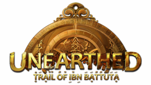 Unearthed Trail of Ibn Battuta EN logo.png