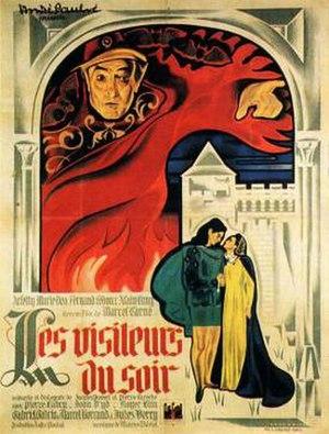 Les Visiteurs du Soir - Theatrical release poster
