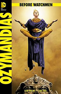 <i>Before Watchmen</i> 2012 series of comic books published by DC Comics, Watchmen prequel