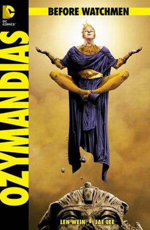 Ozymandias (comics) - Image: WATCHMEN 2012 OZY Cvr