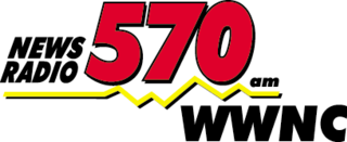 WWNC news/talk radio station in Ashville, North Carolina
