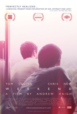 Weekend (2011 film) - Theatrical release poster