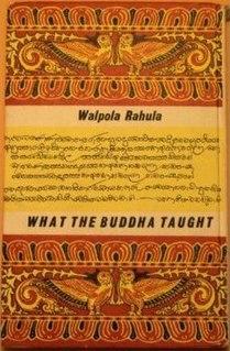 <i>What the Buddha Taught</i> book by Walpola Rahula