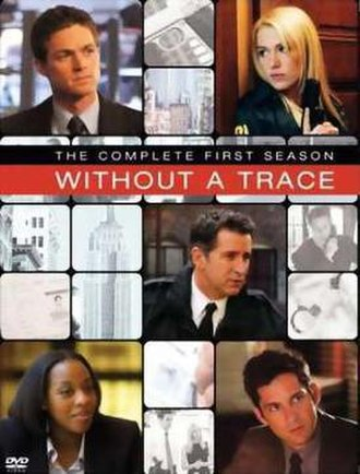 Without a Trace (season 1) - DVD cover