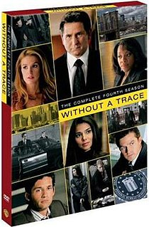 <i>Without a Trace</i> (season 4) Season of television series