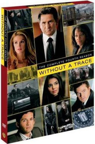 Without a Trace (season 4) - DVD cover