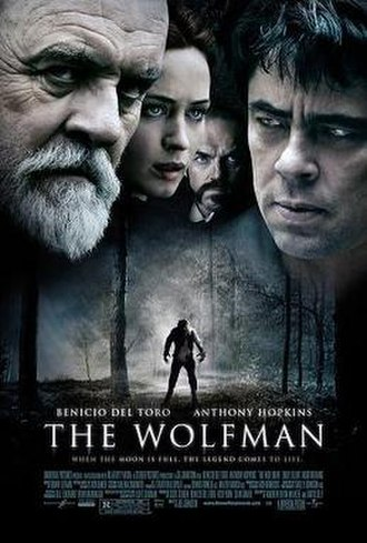 The Wolfman (2010 film) - Theatrical release poster