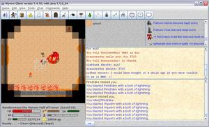 Wyvern (video game) - Image: Wyvern screenshot