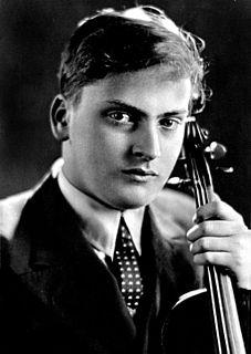 Yehudi Menuhin American violinist and conductor