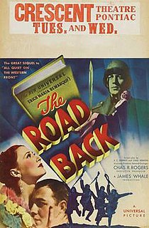 <i>The Road Back</i> (film) 1937 film by James Whale