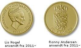 10 kroner coin 2011-