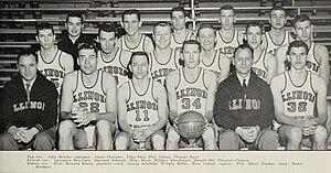 1955–56 Illinois Fighting Illini men's basketball team - Image: 1955–56 Illinois Fighting Illini men's basketball team