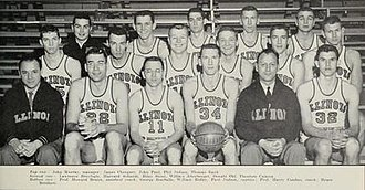 1955–56 Illinois Fighting Illini men's basketball team - Image: 1955–56 Illinois Fighting Illini men's basketball team