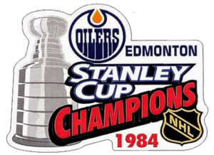 1984 Stanley Cup Finals - Image: 1984 NHL Stanley Cup Playoffs