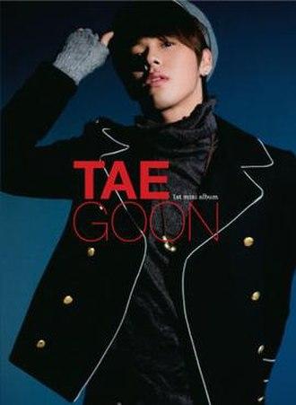 1st Mini Album (Taegoon EP) - Image: 1stminialbum