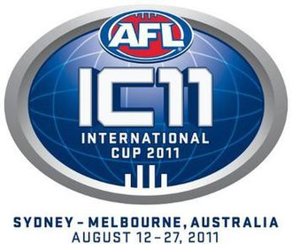 2011 Australian Football International Cup - Image: 2011 AFL International Cup Logo