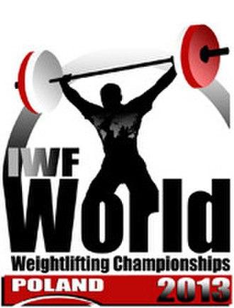 2013 World Weightlifting Championships - Image: 2013 World Weightlifting Championships logo