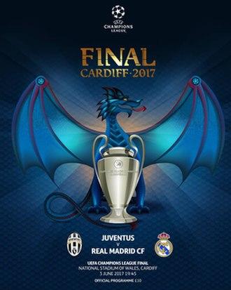 2017 UEFA Champions League Final - Match programme cover