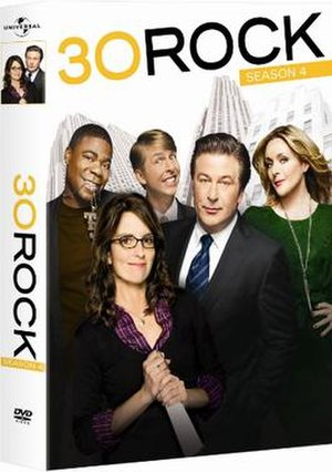 30 Rock (season 4) - DVD cover