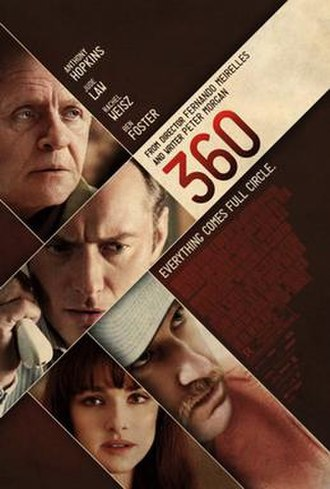 360 (film) - Theatrical release poster