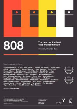 808 (film) - Theatrical poster for the film