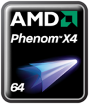 AMD Phenom - AMD Phenom logo as of 2008