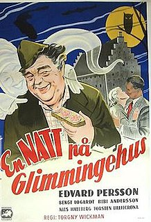 <i>A Night at Glimmingehus</i> 1954 film