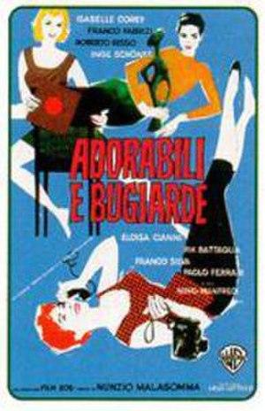 Adorabili e bugiarde - Image: Adorabili e bugiarde cover art