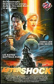 <i>Aftershock</i> (1990 film) 1990 American film directed by Frank Harris