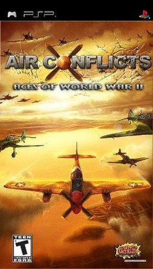 Air Conflicts: Aces of World War II - Image: Air Conflicts Aces of World War II Cover