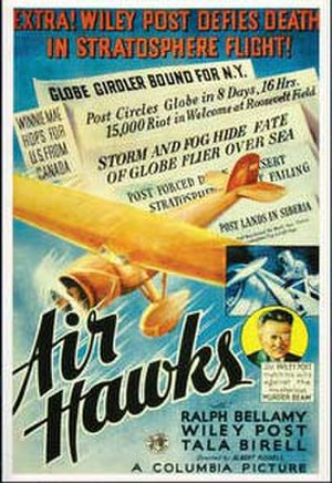 Air Hawks - Theatrical film poster