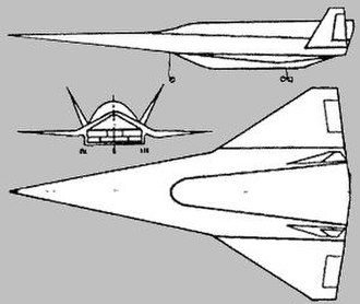 Ayaks - Layout of the projected Ayaks aircraft