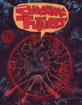 Tharg's Future Shocks - Cover to Alan Moore's Shocking Futures. Art by Kevin O'Neill.