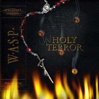 Unholy Terror - Image: Album cover the unholy terror